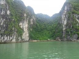 Beach in Ha Long Bay