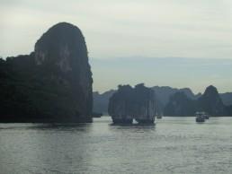 Rocks in Ha Long Bay