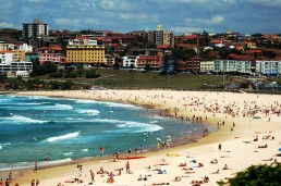 Bondi beach in Australia