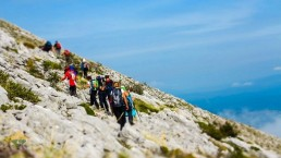 hiking in croatia