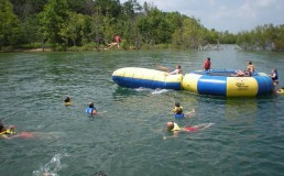 water fun at branson camping