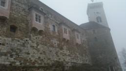 walls of Ljubaljana castle