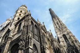 the cathedral in vienna