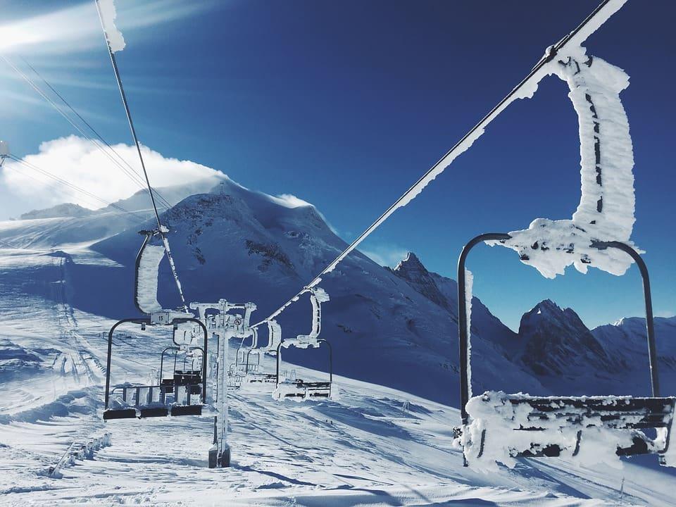 alps skiing