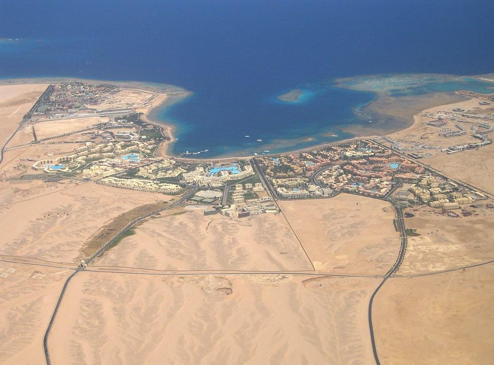Hurghada sky view
