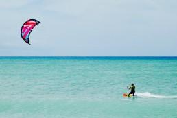 kitsurfing in cape verde