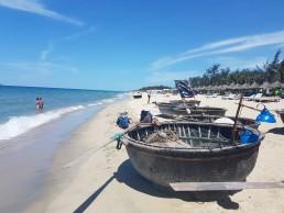 Hoi An beach in vietnam