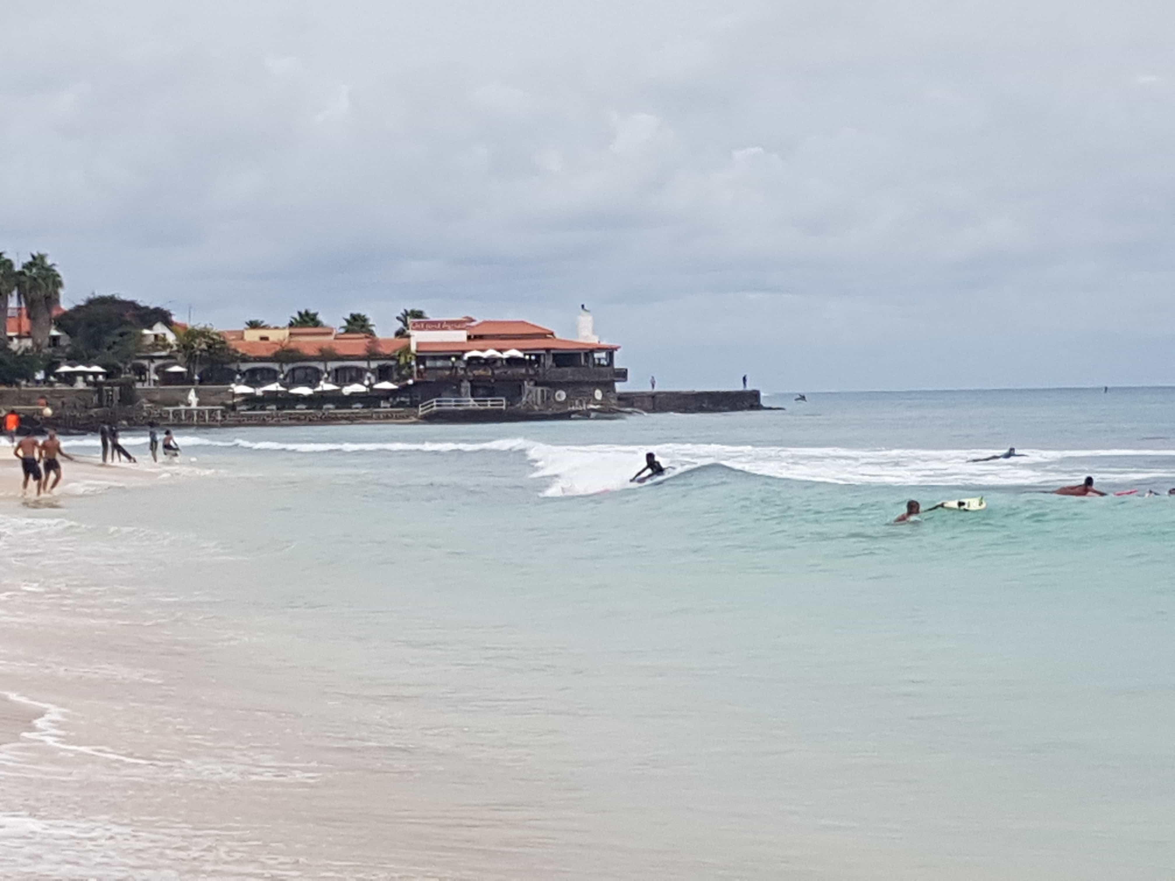 surfing in cape verde