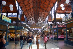 Central Market Hall budapest things to do