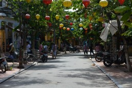 hoi-an streets in vietnam
