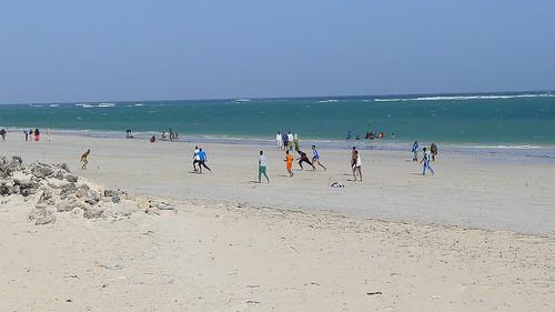 mogadishu football beach