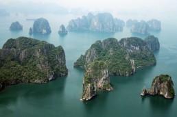 Limestone Mountains vietnam