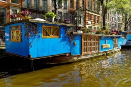 amsterdam house boat
