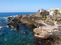 Garachico's rock pools tenerife