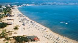 sunny beach bulgaria beach
