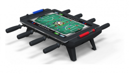 iPad foosball stand travel gift
