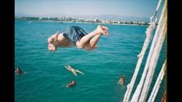 High boat jump